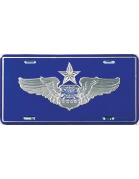 LAF08 USAF Senior Navigator/Observer License Plate