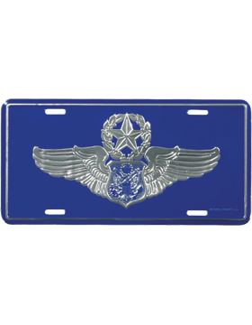 LAF10 USAF Master Aircrew (Officer) License Plate