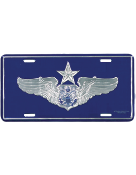 LAF11 USAF Senior Aircrew (Officer) License Plate
