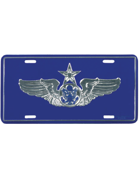LAF14 USAF Senior Aircrew (Enlisted) License Plate