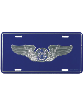 LAF15 USAF Aircrew (Enlisted) License Plate