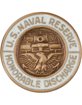 U. S. Navy Reservist Honorable Discharge Lapel Pin