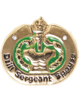 Drill Sergeant Spouse Lapel Pin