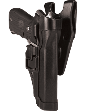 Blackhawk Colt 1911 Black LH Level 2 Serpa Holster | US Military