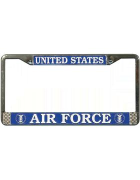 LFAF01 U.S. Air Force License Plate Frame