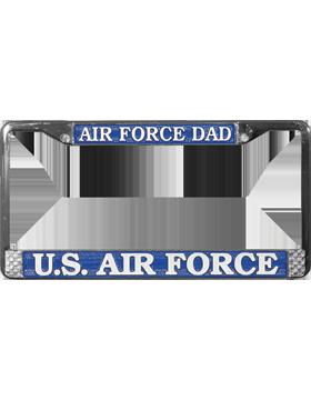 LFAF03 Air Force DAD License Plate Frame