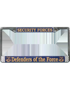 LFAF05 Defenders of the Force License Plate Frame