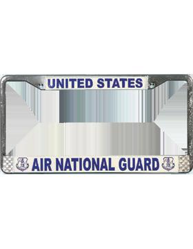 LFAF09 Air National Guard License Plate Frame
