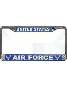 LFAF10 U.S. Air Force New Logo License Plate Frame