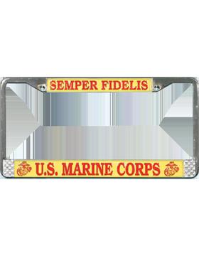 LFM01 U.S. Marine Corps License Plate Frame