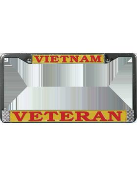 LFVV Vietnam Veteran License Plate Frame small