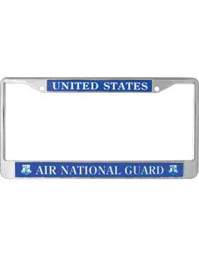 License Plate Frame, LPF-AF-101, United States, AIr National Guard