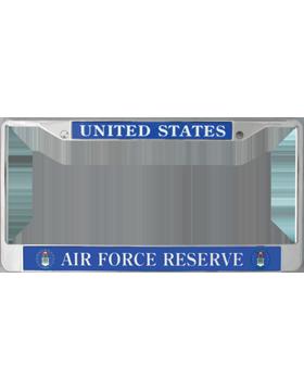 License Plate Frame, LPF-AF-102, United States, Air Force Reserve