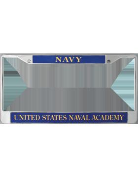 License Plate Frame, LPF-NY-105, Navy, United States Naval Academy