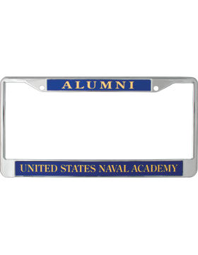 License Plate Frame, LPF-NY-108, Alumni, United States Naval Academy