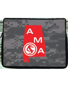 16in Laptop Sleeve Alabama Military Academy, 1-sided