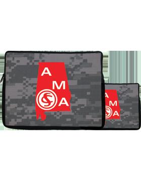 16in Laptop Sleeve Alabama Military Academy, 2-sided