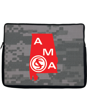 Netbook Sleeve, Alabama Military Academy, 10in 1 Sided