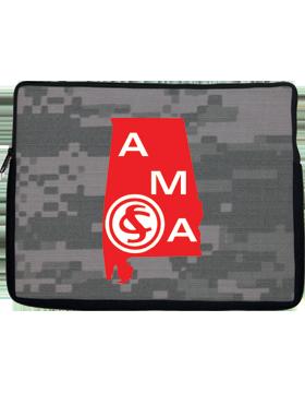 Netbook Sleeve, Alabama Military Academy, 10