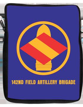 iPad Sleeve 142nd Field Artillery Brigade 1 Sided