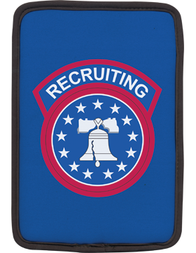Kindle Sleeve Recruiting Command on Blue 1 Sided