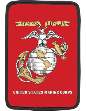 Kindle Sleeve, Semper Fi U S Marines, 8in 1 Sided