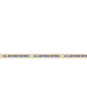 U.S. Air Force Retired Lanyard