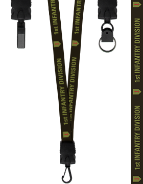 1st Infantry Division Lanyard