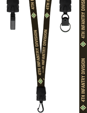 4th Infantry Division Lanyard