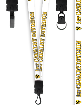 1st Cavalry Division Lanyard