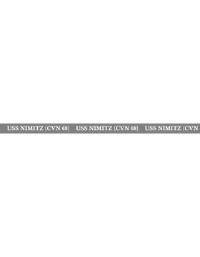 USS Nimitz (CVN 68) Lanyard