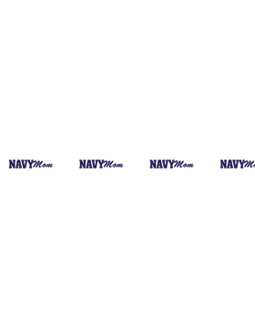 Navy Mom Lanyard