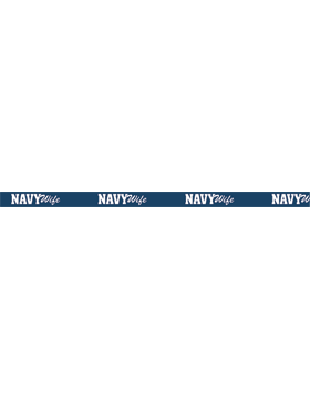 Navy Wife Lanyard small