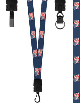 Lanyard Waving Flags