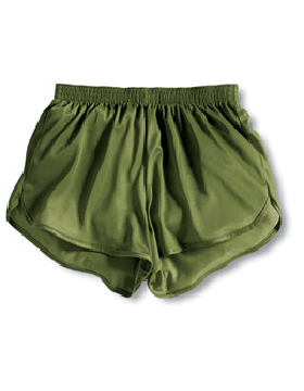 Soffe Olive Drab Adult Tricot Running Shorts