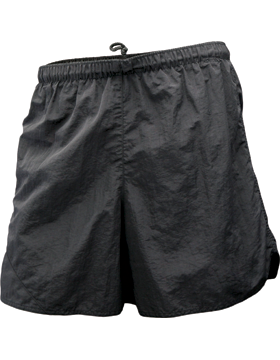 Soffe Black Running Shorts