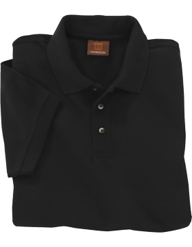 Harriton Pique Short Sleeve Polo M200