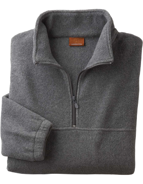 Harriton Quarter-Zip Fleece Pullover M980