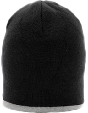 MAGIC-8007 Short Trim Beanie with Contrast Color Stripe