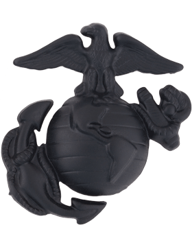 Enlisted Service Cap Deviace Black Metal MC-B403