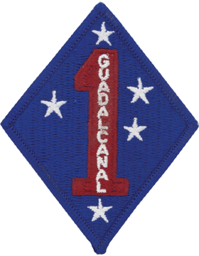1st Marine Division Full Color Patch