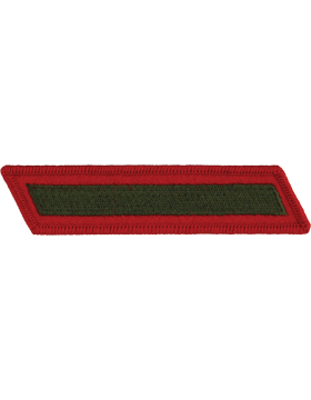 Set of 1 Stripes Green on Red Female