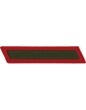 Set of 1 Stripes Green on Red Male