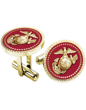 Presidential Series Marine Corps Cuff Links Style 2
