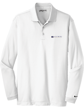 MCPS Alumni Nike Golf Dri-FIT L/S Stretch Tech Polo 466364