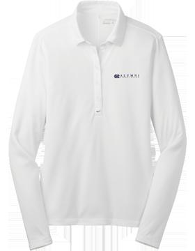 MCPS Alumni Nike Golf Ladies' Dri-FIT L/S Stretch Tech Polo 545322