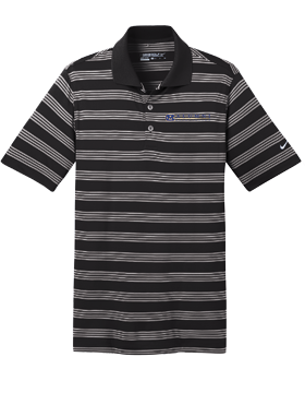 MCPS Alumni Nike Golf Dri-FIT Tech Stripe Polo 578677