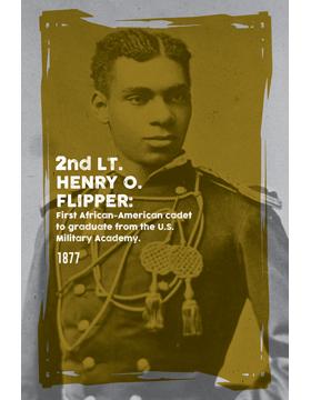 Black History Poster Henry O. Flipper