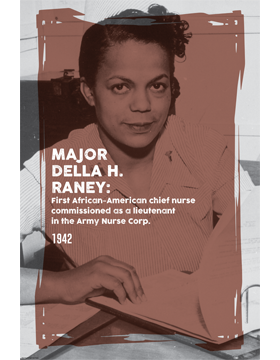 Black History Poster Della H. Raney
