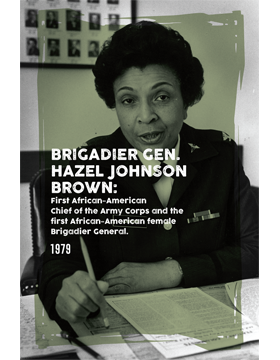 Black History Poster Hazel Johnson Brown